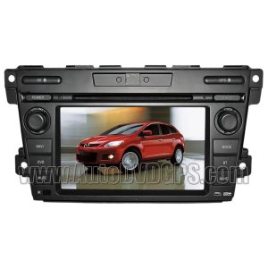"MZD317 Mazda CX-7 DVD Player with GPS navigation and 7"" HD touchscreen and Bluetooth iPod CAN-BUS"