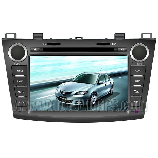 """MZD723D 7""""Digital touchscreen DVD Navigation player with PIP RDS Bluetooth for 2010 2011 Mazda 3"""