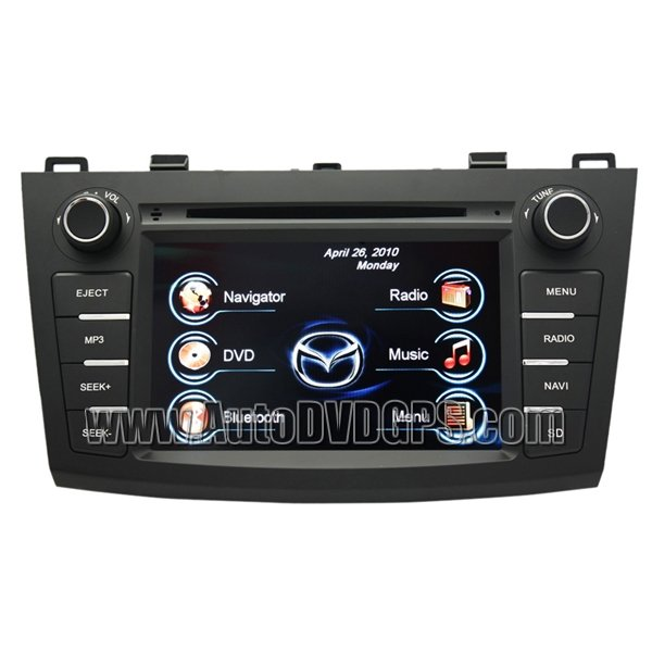 2010 New Mazda 3 DVD GPS Navi Bluetooth Handsfree Ipod Radio Notebook Reading