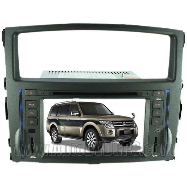 PJL860 2006-2011 Mitsubishi Pajero DVD Player with in-dash GPS Navigation and Digital HD Touchscreen