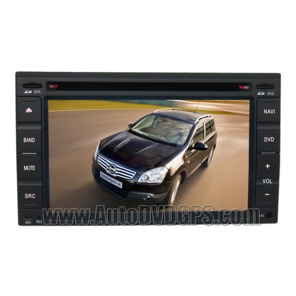 NIS711 Car DVD Navigation player with Digital HD touchscreen & PIP RDS for Nissan Series
