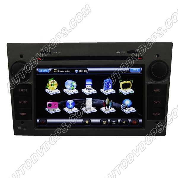 "OPL719 Opel Astra Antara Corsa Zafira DVD player7""Digital HD Touchscreen with indashGPS Navigation"