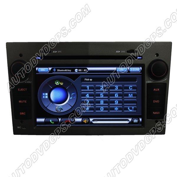 "OPL719SI Opel AstraAntaraCorsa Zafira7""Digital HD Touch screen DVD player with indash GPS Navigation"