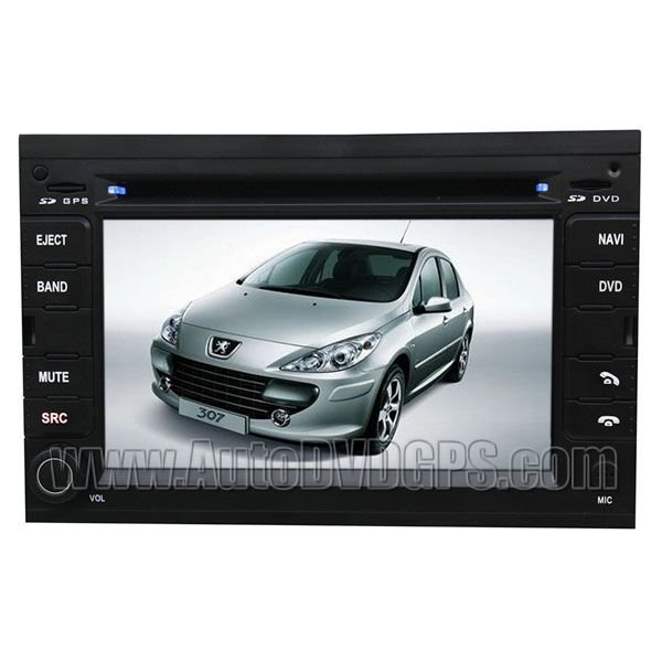 PGT717 Peugeot 307 DVD player with GPS Navigation with Digital Touchscreen and PIP RDS BT USB