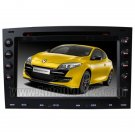 REN601  2003-2008 Renault Megane DVD-based Navigation System with HD touch screen