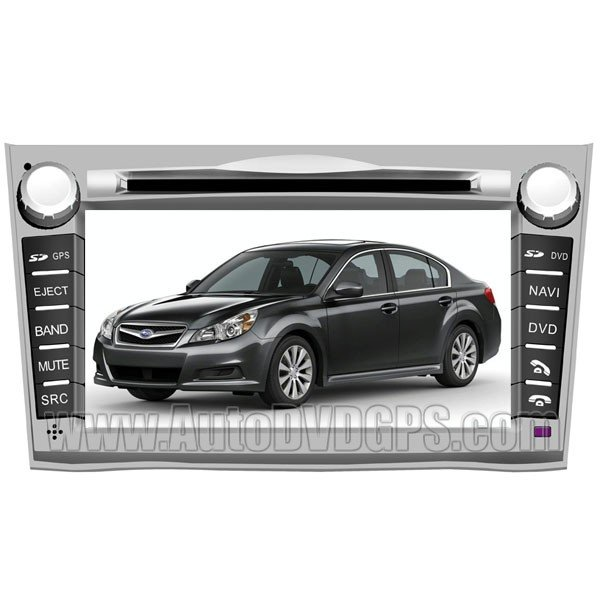 "LGC761  2009-2011 Subaru Legacy DVD GPS Navigation Player 7"" HD Touchscreen with PIP RDS iPod V-CDC"