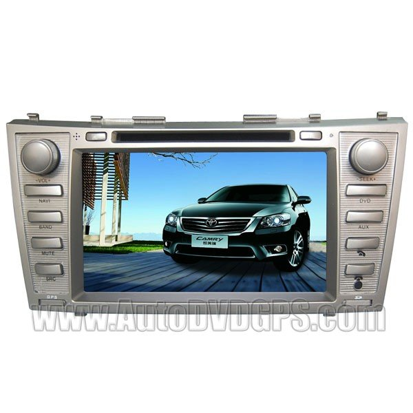 "CMR704 8"" HD Touchscreen Toyota Camry GPS Navigation system with DVD Player BT iPod PIP RDS V-CDC"
