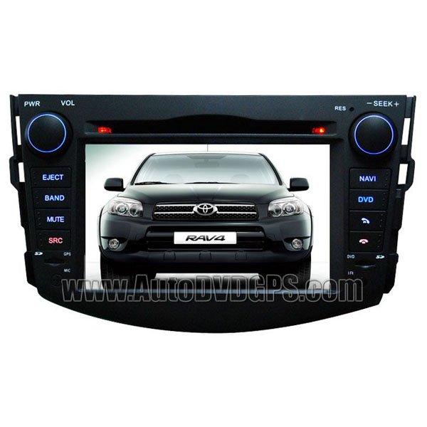 "RAV718D 7""Digital HD touchscreen Toyota RAV4 DVDGPS Navigation player with FM USB RDS Bluetooth iPod"