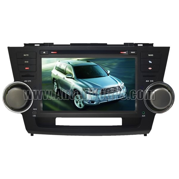 """HLD735  7"""" HD Screen Toyota Highlander GPS Navigation system with DVD Player with iPod PIP RDS"""