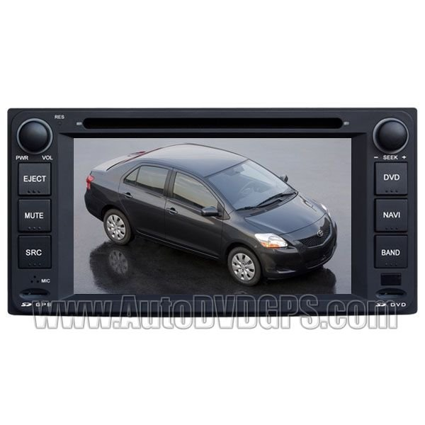 TYT720  Toyota Corolla DVD GPS Navigation Player with HD Touch Screen Bluetooth RDS iPod