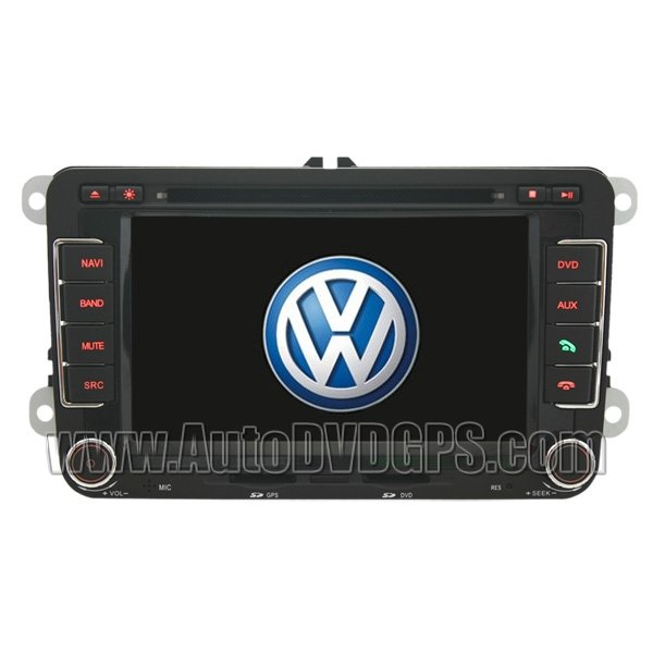 "VWG704 7"" Digital Touch screenVWGOLF 5 6 DVD GPS player with BT iPod CAN-BUS and optional RDS-TMC"