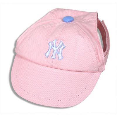 New York Yankees Princess Pink Dog Baseball Cap Hat Size Small