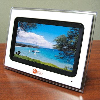 "GT PRO® 7"" TFT LCD DIGITAL PHOTO FRAME"