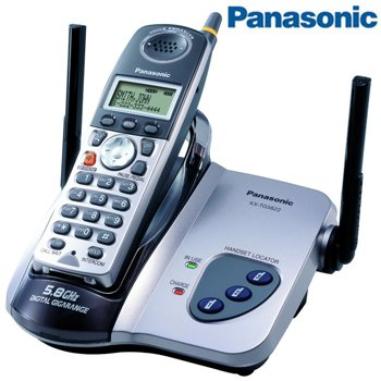 PANASONIC® 5.8GHz DIGITAL CORDLESS PHONE