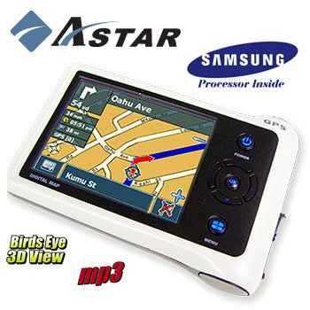 ASTAR® PORTABLE PERSONAL NAVIGATION SYSTEM