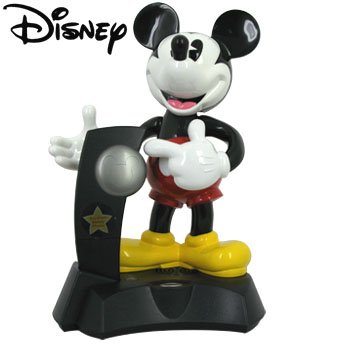 KNG AMERICA ® MICKEY MOUSE ANIMATED TALKING CORDLESS PHONE