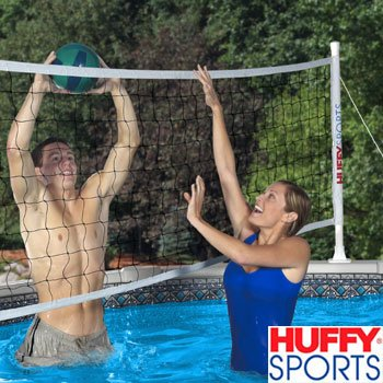 HUFFY SPORTS® SWIMMING POOL VOLLEYBALL SET