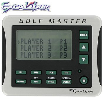 EXCALIBUR® ELECTRONIC GOLF SCORING CADDY