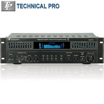 TECHNICAL PRO® 1000 WATT INTEGRATED AMPLIFIER