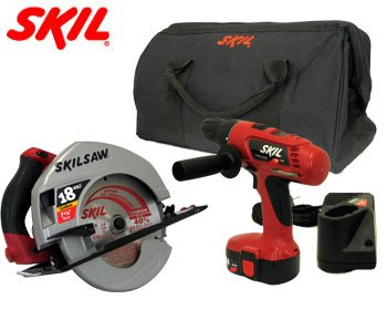 SKIL® 18 VOLT CORDLESS DRILL & SAW COMBO KIT