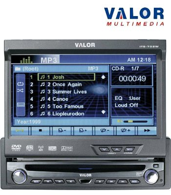 VALOR® MOTORIZED IN-DASH MONITOR/ RECEIVER