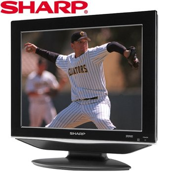"SHARP® 15"" LCD TV"