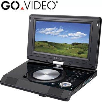 "GO VIDEO® 9"" TABLET SWIVEL DVD PLAYER"