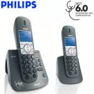 PHILIPS® DECT 6.0 CORDLESS PHONE