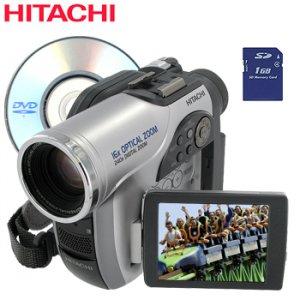 HITACHI® DVD CAMCORDER