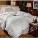 Lifestyled Milano White Twin Down Comforter