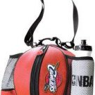 CLEVELAND CAVALIERS Pebble Grain Basketball Ballbag w/ rubberized logo, NBA water bottle