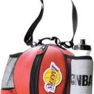 LOS ANGELES LAKERS Pebble Grain Basketball Ballbag w/ rubberized logo, NBA water bottle