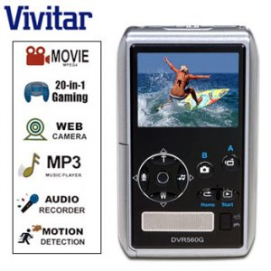 VIVITAR® 5.0MP DIGITAL CAMERA & MULTI-MEDIA DEVICE