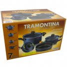 TRAMONTINA® 7-PC COOKWARE SET