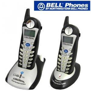 BELL PHONES® 2.4GHz DUAL HANDSET CORDLESS PHONE