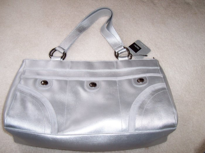 WOSSIVO ladies hand bag Sliver