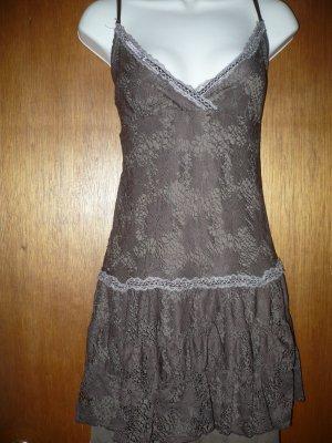 1x Jr's Plus Sexy Brown Dress