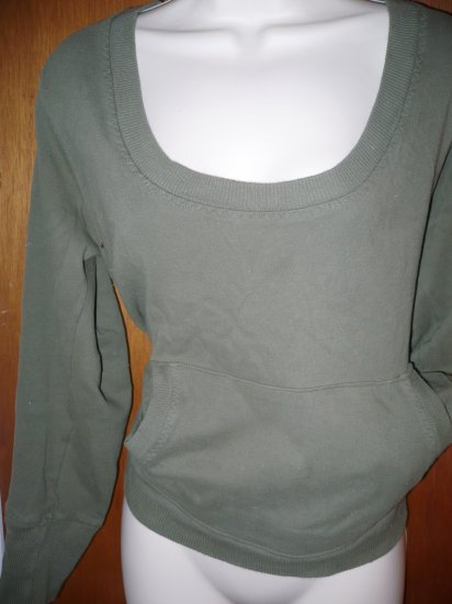 XXL  Olive Green Sweatshirt Pullover