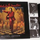 MICHAEL JACKSON BLOOD ON THE DANCE FLOOR LP +GUEST PASS