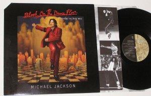 MICHAEL JACKSON BLOOD ON THE DANCE FLOOR LP +GUEST PASS