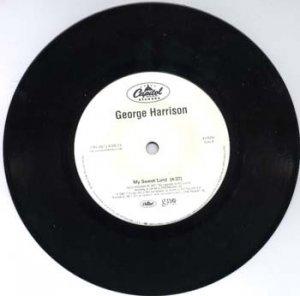 George Harrison MY SWEET LORD US PROMO 45 w/ SLEEVE