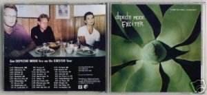 DEPECHE MODE EXCITER USA PROMO ONLY INTERVIEW DISC RARE