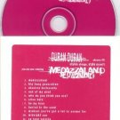 DURAN DURAN MEDAZZALAND ADVANCE CD IN CARD SLEEVE MINT!