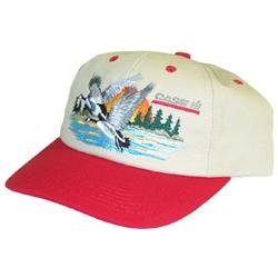 Case International Harvester Hat With Geese (Red + Tan)