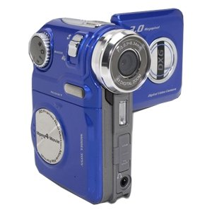DXG USA DXG-305V MPEG-4 Digital Video Camera - 3.0 Megapixels, 4x Digital Zoom, Blue