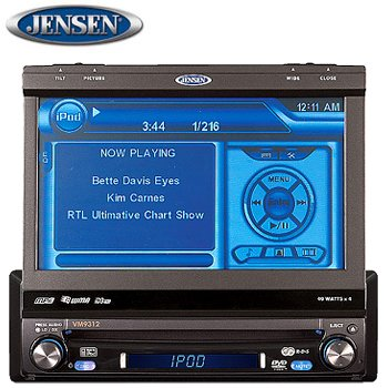 MULTIMEDIA RECEIVER WITH 7 INCH TOUCHSCREEN