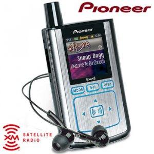 PORTABLE XM SATELITE RADIO RECEIVER/MP3 PLAYER