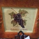 Decorative Grape Plates