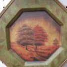 Decorative Plate with Trees