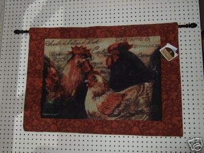 Rooster Tapestry